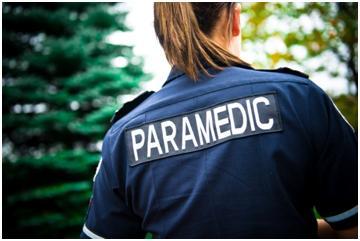 Certified flight paramedic patch